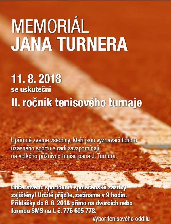 MEMORIÁL JANA TURNERA