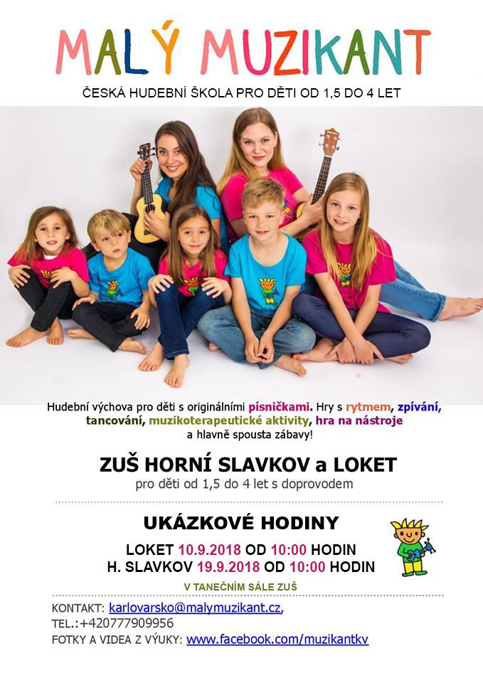 Hudební školička - Malý muzikant