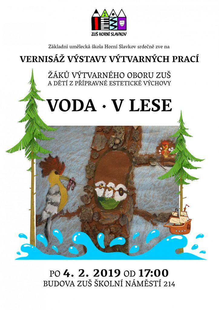 ZUŠ - Vernisáž výstavy výtvarných prací
