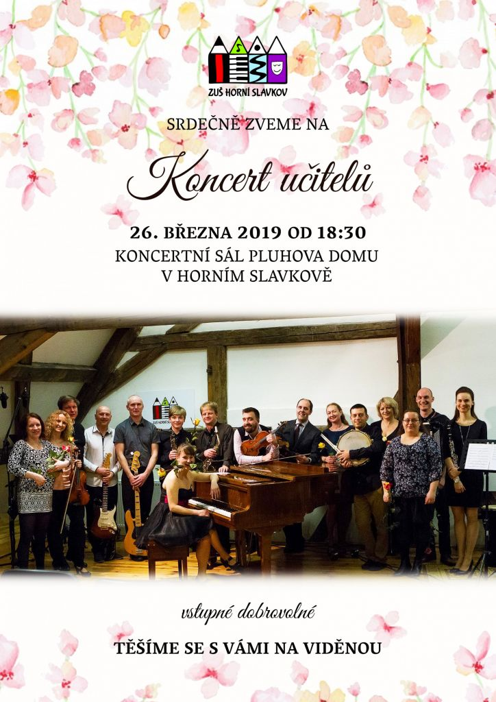 ZUŠ - Koncert učitelů