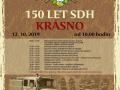 OSLAVY 150 LET založení SDH KRÁSNO
