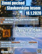 Zimní pochod Slavkovským lesem