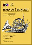 Hornový koncert Základní umělecké školy